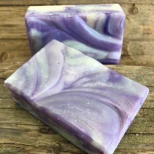Wisteria _ Lilac Soap