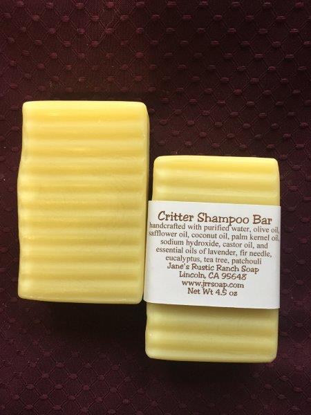 Critter Shampoo Bar